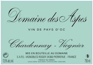 Chardonnay-Viognier - Domaine des Aspes